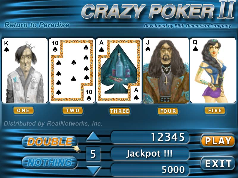 Click to view Crazy Poker 2 screenshots